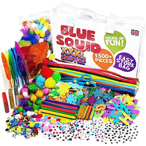 Blue Squid Arts & Craft Supplies...