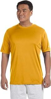 Champion Men's Double Dry Interlock T-Shirt, WHT, Small