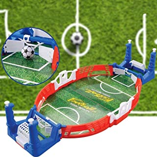 Latest Mini Table Top Football Game Set,Classic Arcade Games Desktop Interactive Training Football Toy Family Sports Party...