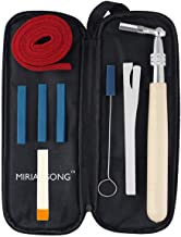 MiriamSong Professional Piano Tuning Kit - The Best Tuner Set Including Universal Star Head Hammer, Mute tools, Felt Temperament Strip and Case