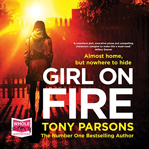 Girl on Fire audiobook cover art