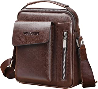 Bageek Men Shoulder Bag Casual Adjustable Shoulder Purse Crossbody Bag Messenger Bag for Travel