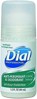 Dial, 07686, Anti-Perspirant Deodorant, Crystal Breeze, 1.5oz, Roll-On, 48/Carton, Sold As 1 Carton