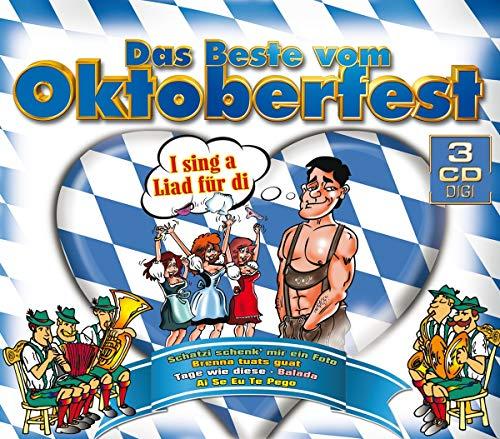 Das Beste Vom Oktoberfest - 42 Hits auf 3 CDs (I sing a liad für di, Schatzi schenk mir ein Foto, Brenna tuats guat, Tage wie diese, Balade, Ai se eu te pego uva.)