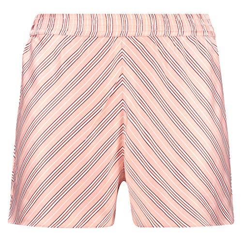 Hunkemöller Pyjama-Shorts aus Satin-Streifen Rose S