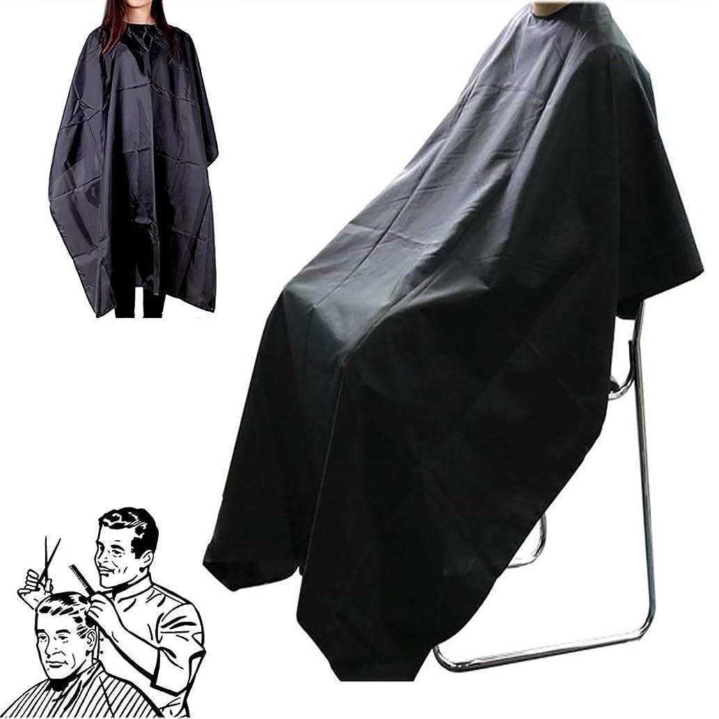 バナナ発動機ユーザーSnner 散髪マント 散髪ケープ 散髪 ケープ 刈布 散髪道具 ヘアカット用 サロン 多機能 便利
