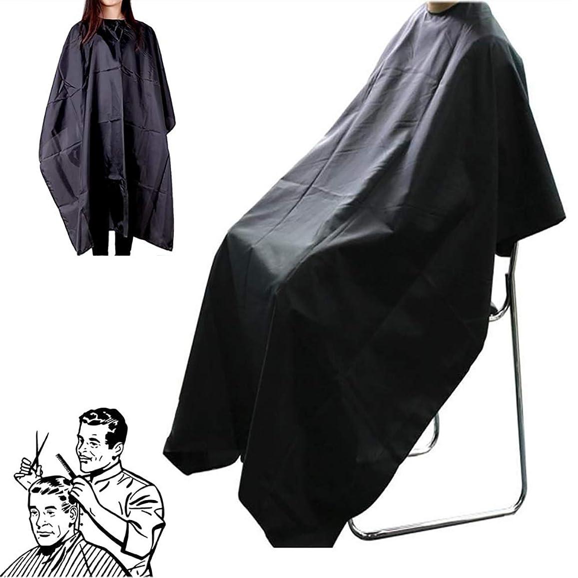 翻訳日焼け鉛Snner 散髪マント 散髪ケープ 散髪 ケープ 刈布 散髪道具 ヘアカット用 サロン 多機能 便利