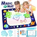 "Betheaces Large Water Doodle Mat - Magic Drawing Mat Kids Toys Doodle Painting Writing Board with Magic Pens Educational Toys Gifts for Toddlers Boys Girls Age of 2 3 4 5 6 7 8 Year Old 40""x 28"""