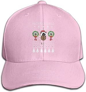 Ezilii Holiday LST 2017 Unisex Solid Color CapRunning Hat Adjustable
