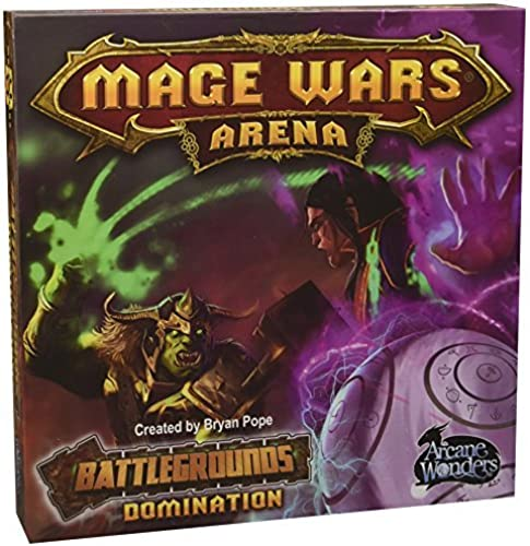 Arcane Wonders ARWWBG01 Mage Wars Arena BattleGründ Dominations Game by Arcane Wonders
