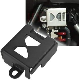 V Strom 1000 DL1000 Schutzdeckel für Hinten Bremsflüssigkeitsbehälter Deckel Für Suzuki V Strom1000 DL 1000 2014 2019(Schwarz)
