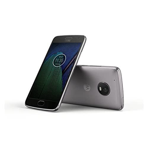 Motorola Moto G5 Plus 32 GB XT1684 (Single Sim) UK SIM-Free Smartphone - Lunar Grey