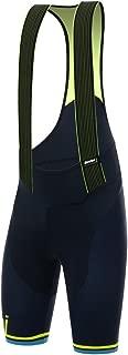 Santini Men's Tono 2.0 Bib Shorts, Flouro Yellow, Medium