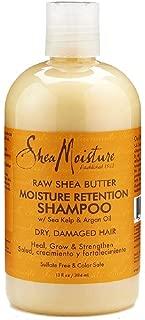 Shea Moisture Raw Shea Shampoo 13 Ounce (384ml) (6 Pack)