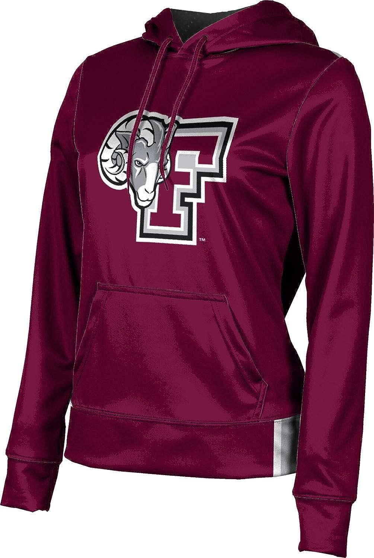 ProSphere Fordham University Girls' Pullover Hoodie, School Spirit Sweatshirt (Solid)