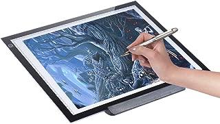 A3 LED Luminosit Pad luce USB Tavoletta Tavolo Scatola LED Disegno Pittura Tracing Board regolabile per tatuaggio progettista tracciamento tabella tatuaggio disegno Tablet luce,33*48*0.8cm