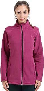 Infinite Role Women's Full Zip Jacket Track Winter Activewear Soft Polar Fleece Coat Sweater