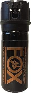 Fox Labs, Five Point Three Squared, 4% OC Pepper Spray- Flip Top Stream (1.5 oz) 154FTSDB
