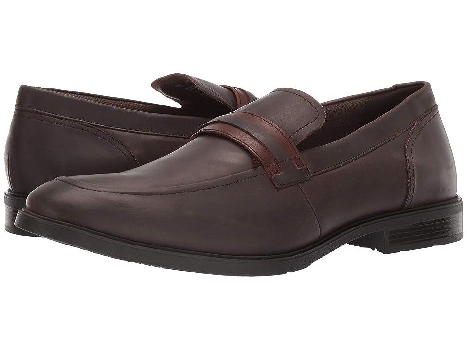Hush Puppies Advice MT Slip-On (Dark Brown Leather) Men