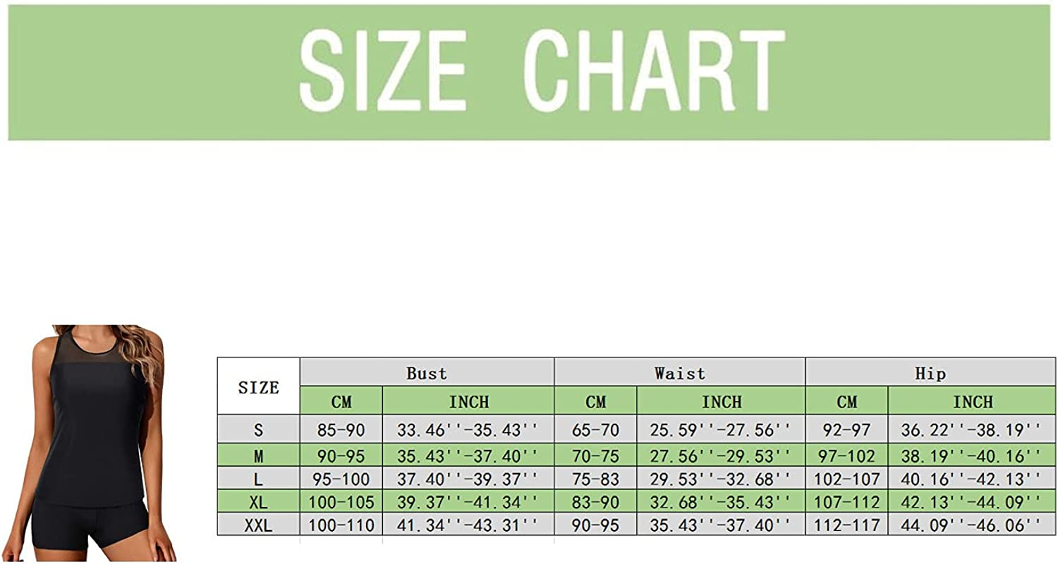 National uniform free shipping Women Tankini Swimsuit Tummy Control Very popular Top B Piece with Shorts Two