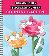Brain Games – Sticker by Number: Country Garden (Geometric Stickers) PDF