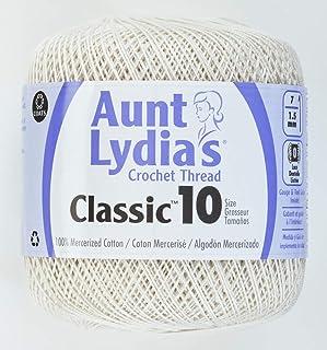 Coats Crochet Classic Crochet Thread, 1 Pack, Antique White
