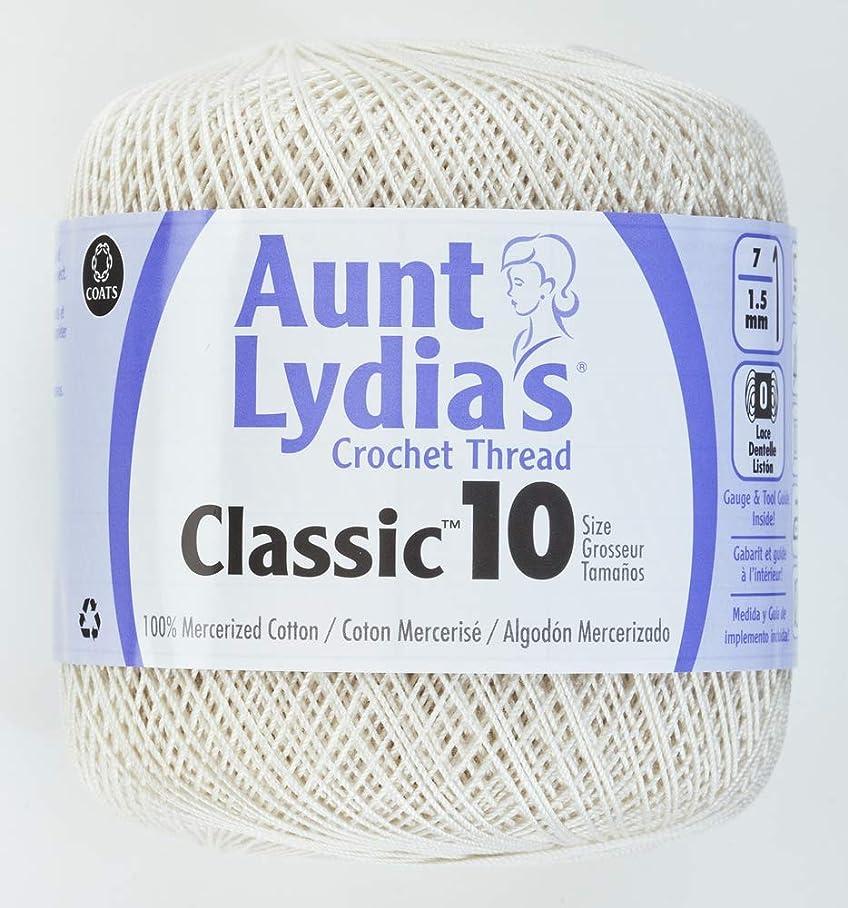 Coats Crochet Classic Crochet Thread, 1 Pack, Antique White p872406856