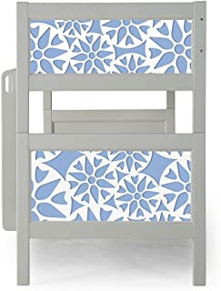 P'Kolino Nesto Bunk Bed Grey - Prima (Light Blue)