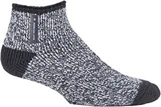 HEAT HOLDERS - Mens Warm Luxury Fluffy Fleece Lined Lounge Sleep Bed Socks