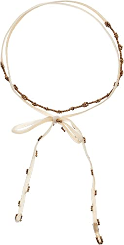Chan Luu - Daisy Cut Beads Choker Necklace