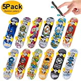 Finger Skateboards, 5PCS Mini Diapasón Patineta de Dedos Monopatines...