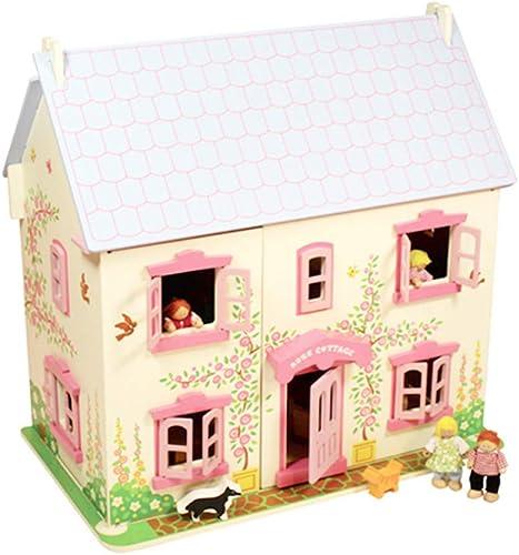 Mercancía de alta calidad y servicio conveniente y honesto. LWKBE Casa de muñecas de Madera Madera Madera con Muebles Conjunto DIY Dream Doll House para Niños, Hecho a Mano Miniatura Dollhouse cumpleaños  todos los bienes son especiales