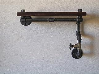 Estantes de Pared Retro Loft Hierro Industrial de tubería de Agua estantes estantes Decorativos Vintage 50 * 20 * 40cm dec...