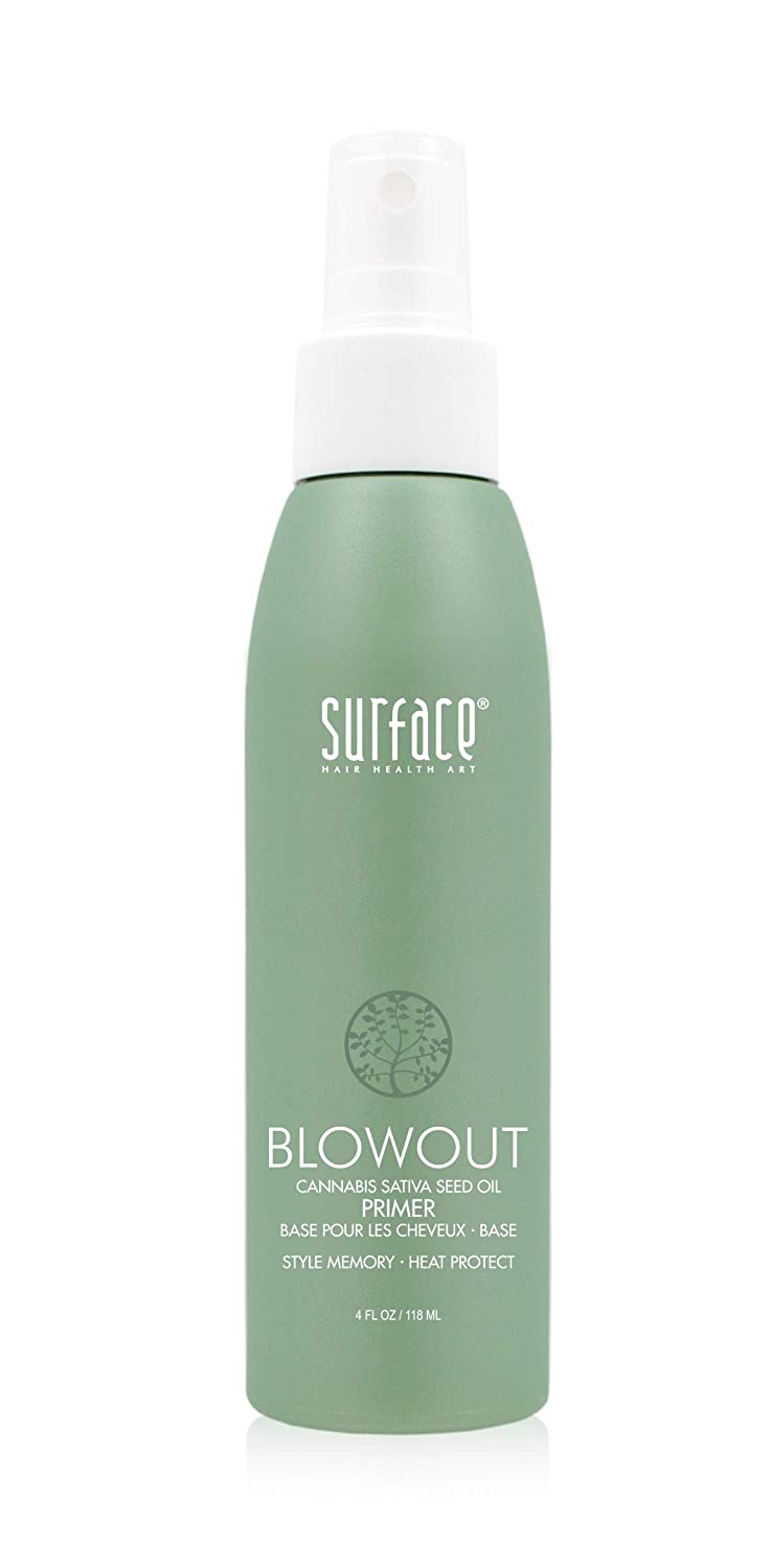 Surface Hair Blowout Many popular brands Primer 35% OFF Spray for Women oz 4 Men - and