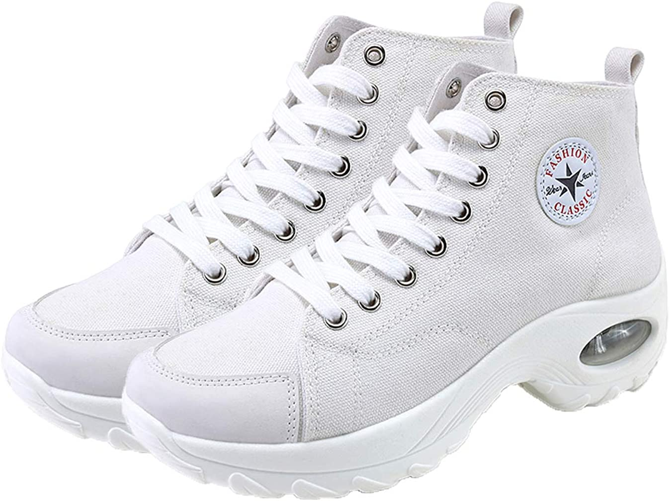 MAUGELY Women's Spring new work High Top Heightened Sole Fashion Sports Max 40% OFF S Causal