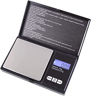 lahomia Digital Scale, Portable Bathroom Scale with LCD Display - 100g