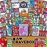 CraveBox Care Package (50 Count) Snacks Food Cookies...