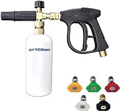 AYTCRNO Foam Cannon Lance Pressure Washer Nozzles Tip Spray Gun, Pressure Washer Gun,Jet WashFoam Cannon with 1/4 Inch Qui...