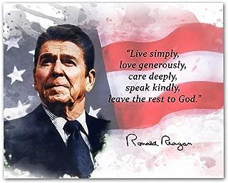 Ronald Reagan Quotes Wall Art, 8