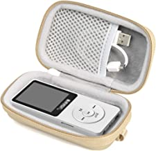 Case for Wireless Earbuds Charger Box Like Sony WF1000X/BM1, SOL Republic Amps and MP3 Player Like Soulcker, AGPTEK A01T, U1, B03, C3, Rocker V2, Iyzer 16GB, Grtdhx 16GB, Wrcibo 8GB, Mahdi, Dansrue
