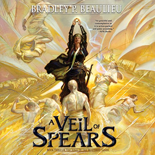 Page de couverture de A Veil of Spears