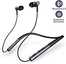 Wireless Bluetooth Headphones, UMIDIGI Neckband in-Ear Headphones, Ubeats Bluetooth 5.0 Waterproof Magnetic Earphones with Mic (12 Hours Play Time, Cvc6.0, IPX5) for Sports, Workout, Running, Gym