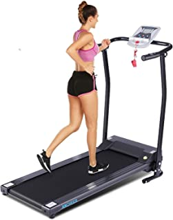 FUNMILY Treadmills, Folding Treadmills for Home with LCD Motorized Running Walking Jogging Exercise Fitness Machine Trainer Equipment for Home Gym Office