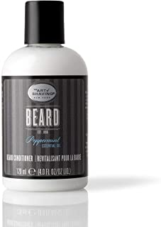 The Art of Shaving Beard Conditioner - Beard Softener to Nourish & Soften Beard Hair, Leaves Clean & Shiny Finish, Pepperm...