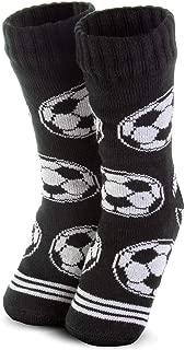 Sports Slipper Sock | Slipper Socks by ChalkTalk SPORTS | Sherpa Fleece Lined