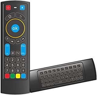GOWELL Bluetooth Remote Specifically Compatible with Amazon Fire TV and Fire TV Stick Air Mouse Remote Control with Keyboa...