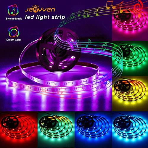 20-Color Music Sync LED Strip Lights