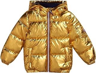 Little Boys Girls Winter Coat Jacket Quilted Jacket Toddler Puffer Warm Thickened Coat Praka Hooded