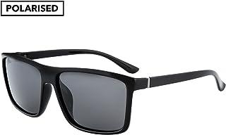 Winstonne Mavericks Men's Square Polarized Sunglasses - WNPO1006 57-17-130mm