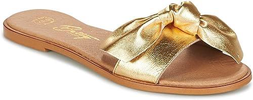BETTY LONDON INNIMITI Zuecos damenes Gold Zuecos (Mules)